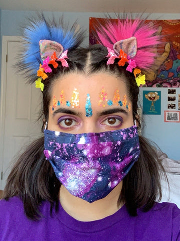 GALAXY TOUR MASK