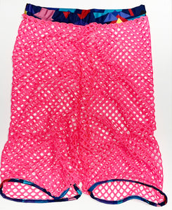 DISCO DANCER FISHNET SHORTS
