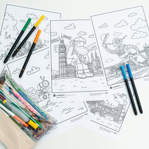 Colouring Sheets: England Pack