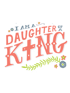Daughter of a King Onesie