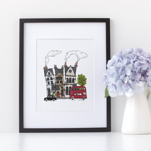 INSTANT DOWNLOAD: London Houses