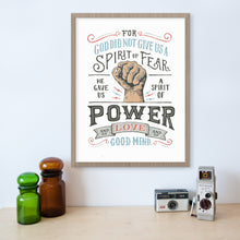Load image into Gallery viewer, 2 Timothy 1:7 Spirit of Power