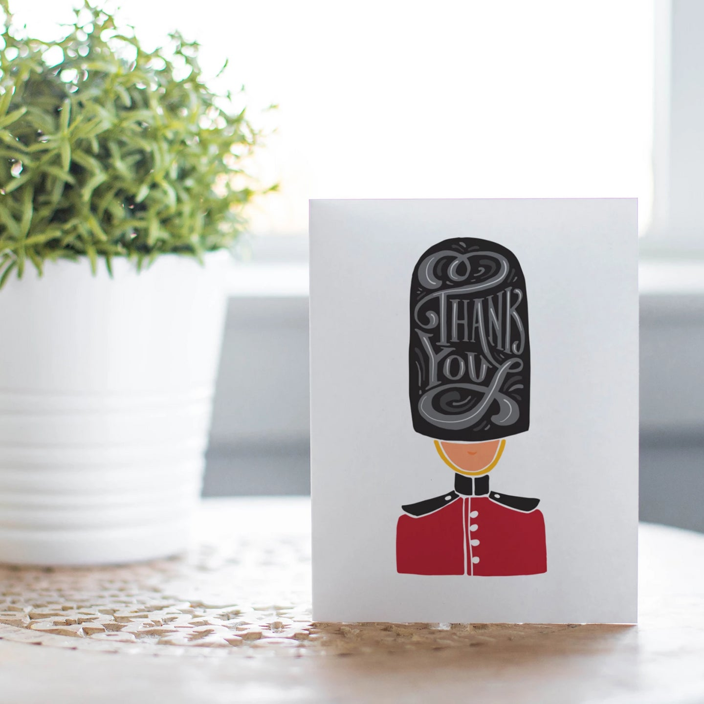 Queens Guard Thank You Card