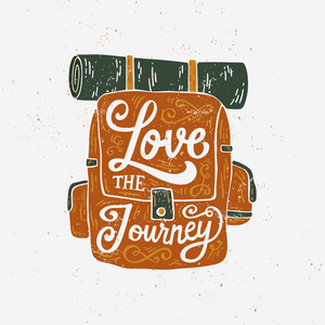 Love the Journey Enamel Mug