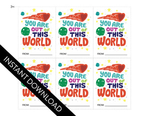 INSTANT DOWNLOAD: You are Out of This World