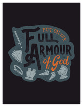 Load image into Gallery viewer, Ephesians 6:11 Put on the Full Armour of God Card