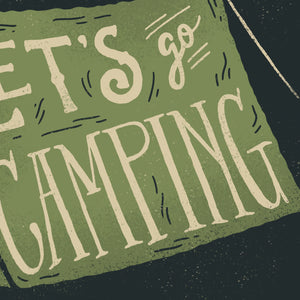 Let's Go Camping Card