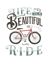 Load image into Gallery viewer, Life is a Beautiful Ride Onesie