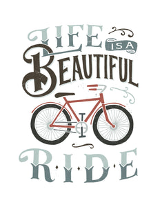 Life is a Beautiful Ride Onesie