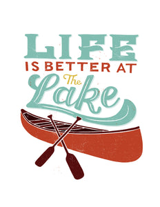 Life is Better at the Lake Tote Bag