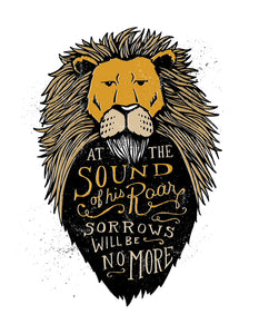 Narnia Sound of His Roar Card