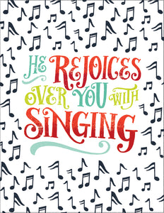 Zephaniah 3:17 He Rejoices Over You
