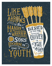 Load image into Gallery viewer, Psalm 127:4 Arrows in the Hands of Warriors
