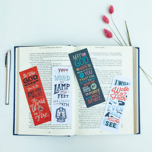 Bible Verse Bookmarks Set of Four