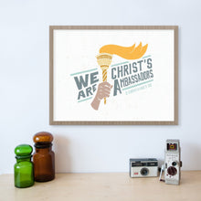 Load image into Gallery viewer, 2 Corinthians 5:20 We Are Christ's Ambassadors