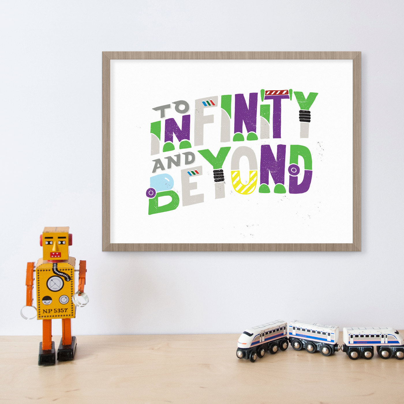 Toy Story To Infinity and Beyond