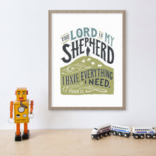 Load image into Gallery viewer, Psalm 23  Lord is My Shepherd