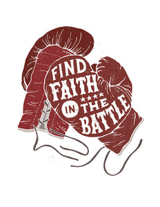 Find Faith in Battle Card