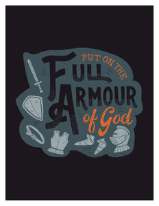 Ephesians 6:11 Put on The Full Armour of God