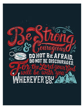 Load image into Gallery viewer, Joshua 1:9 Be Strong and Courageous Card