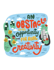Obstacle is an Opportunity Card