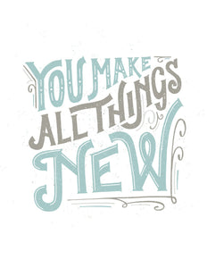 You Make All Things New, Hillsong