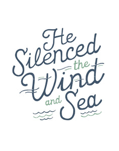 Mark 4:29 He Silenced the Wind and Sea
