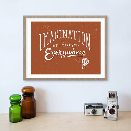 Imagination Will Take You Everywhere