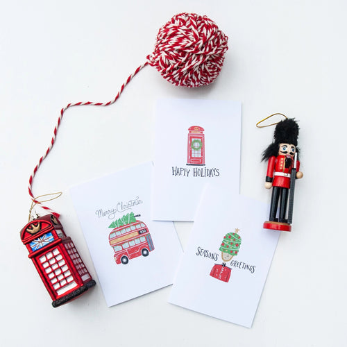 London Christmas Cards Pack of 12