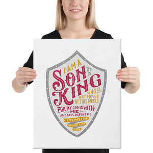 Son of a King Canvas