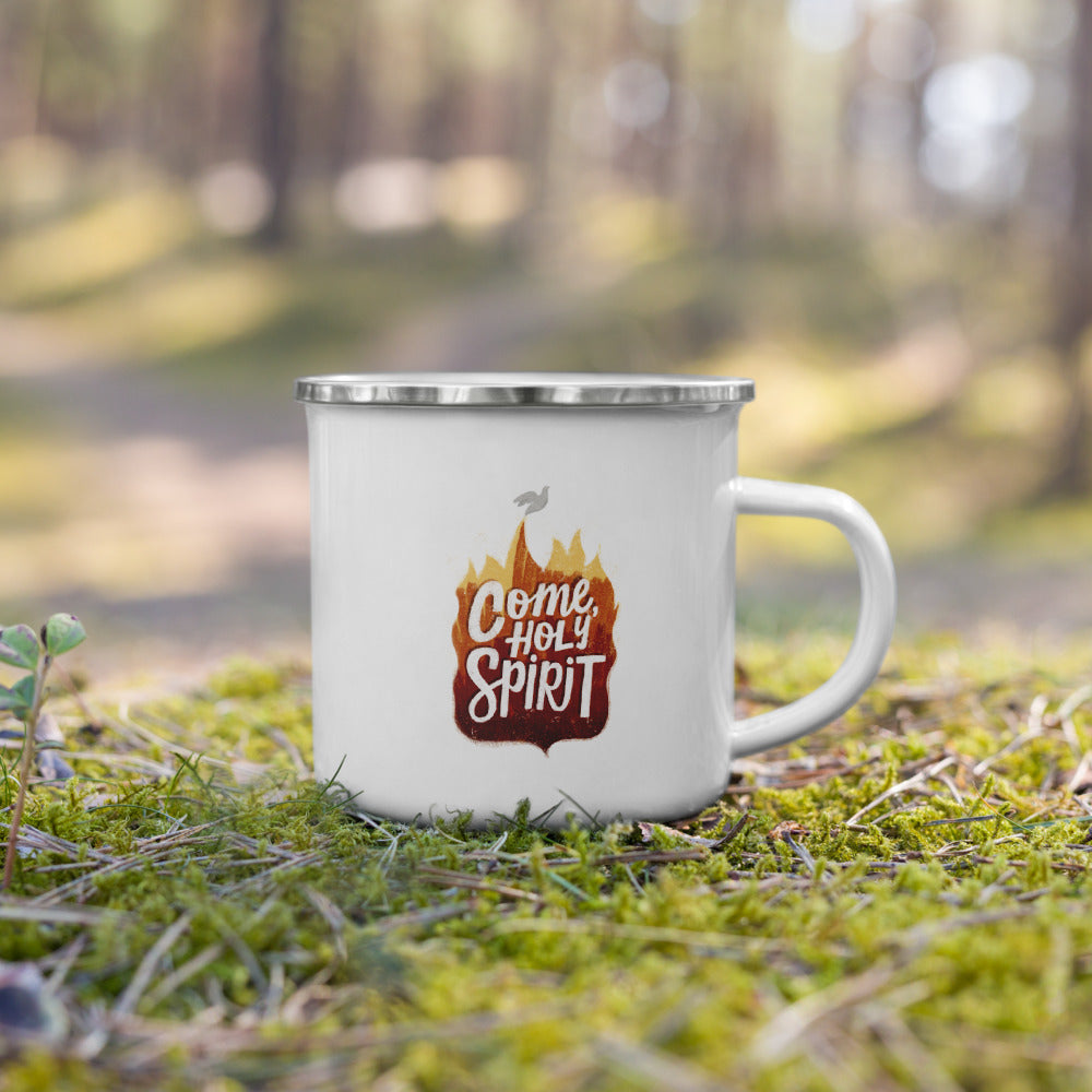 Come, Holy Spirit Enamel Mug