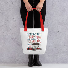 Load image into Gallery viewer, Can't Get a Book Big Enough Tote Bag