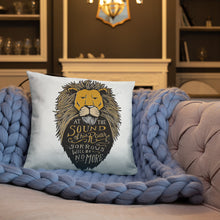 Load image into Gallery viewer, Narnia Sound of His Roar Pillow
