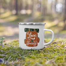 Load image into Gallery viewer, Love the Journey Enamel Mug