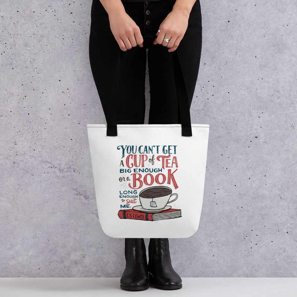Can't Get a Book Big Enough Tote Bag