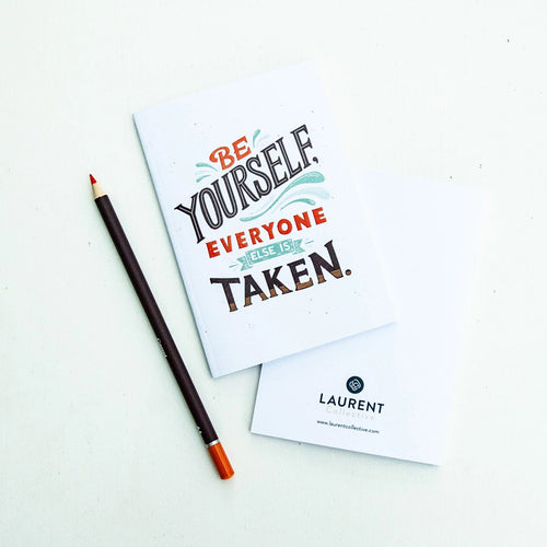 Mini Notebooks Be Yourself Everyone Else Is Taken, Oscar Wilde
