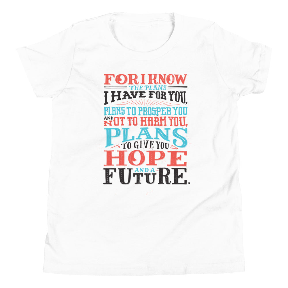 Jeremiah 29:11 Youth T-Shirt