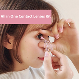 All in One Contact Lenses Kit - Bebeleco
