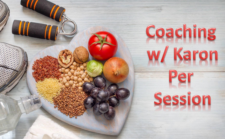 Wellness Coaching with Karon- per session