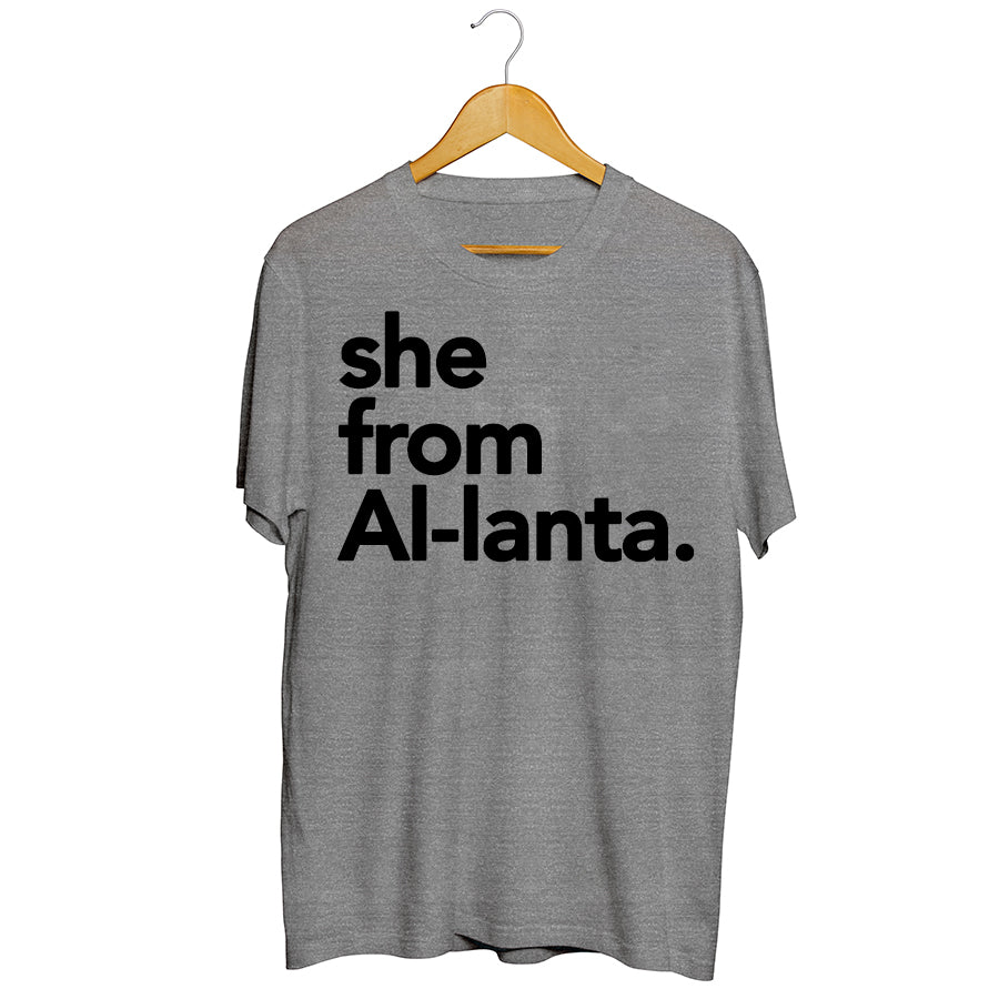 She from Atlanta