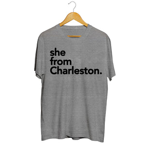 She from Charleston