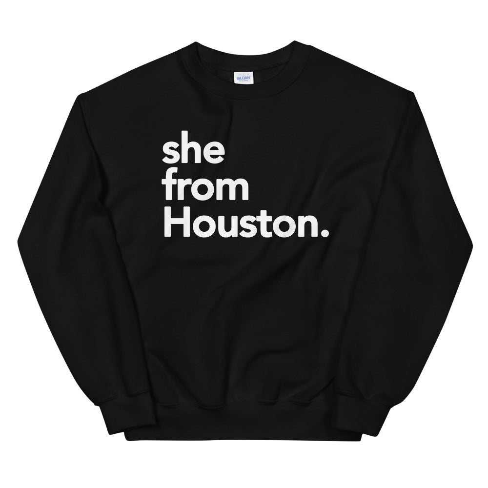 She from Houston
