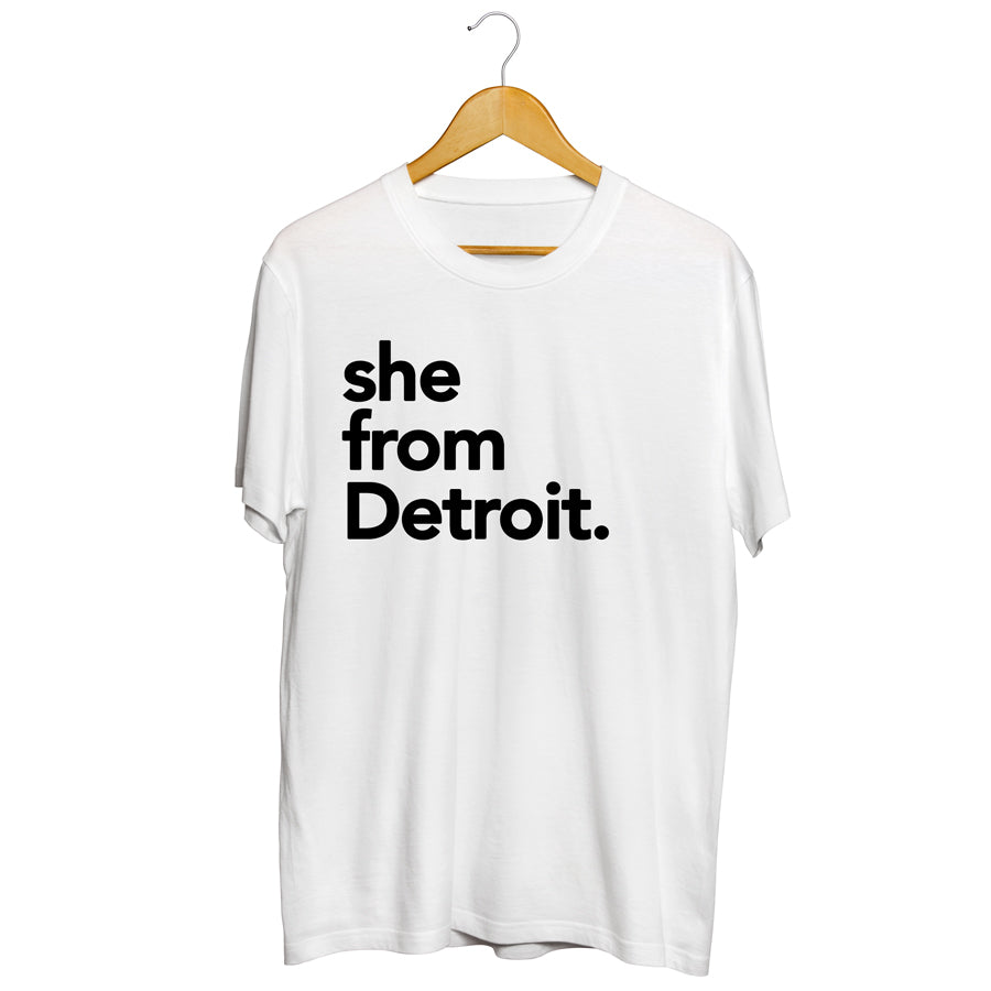 She from Detroit
