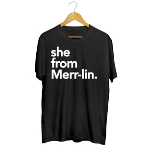 She from Merr-lin