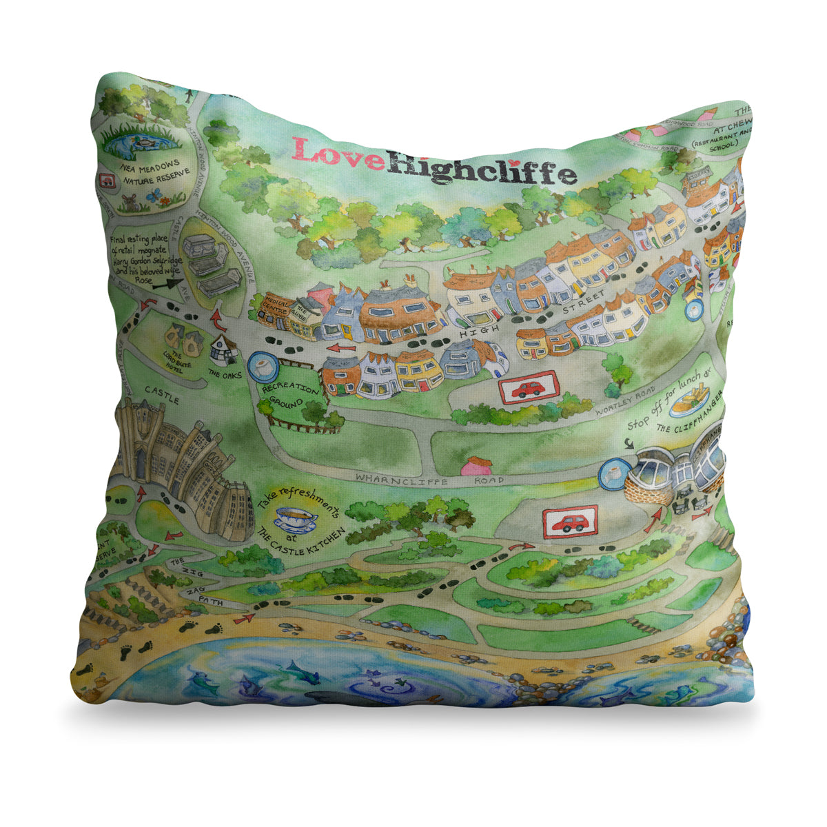 Love Highcliffe Cushion