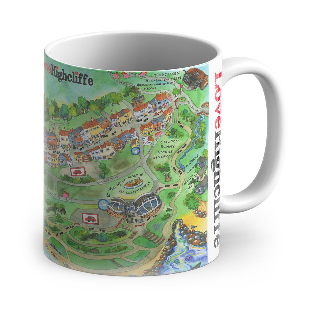 Love Highcliffe Mug
