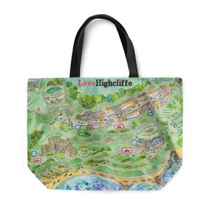 Love Highcliffe Tote Bag