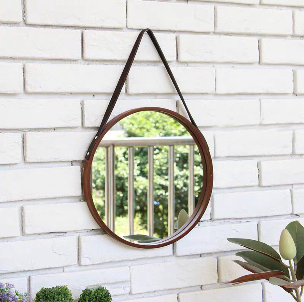 Small Round Vanity Wall Mirror 30cm