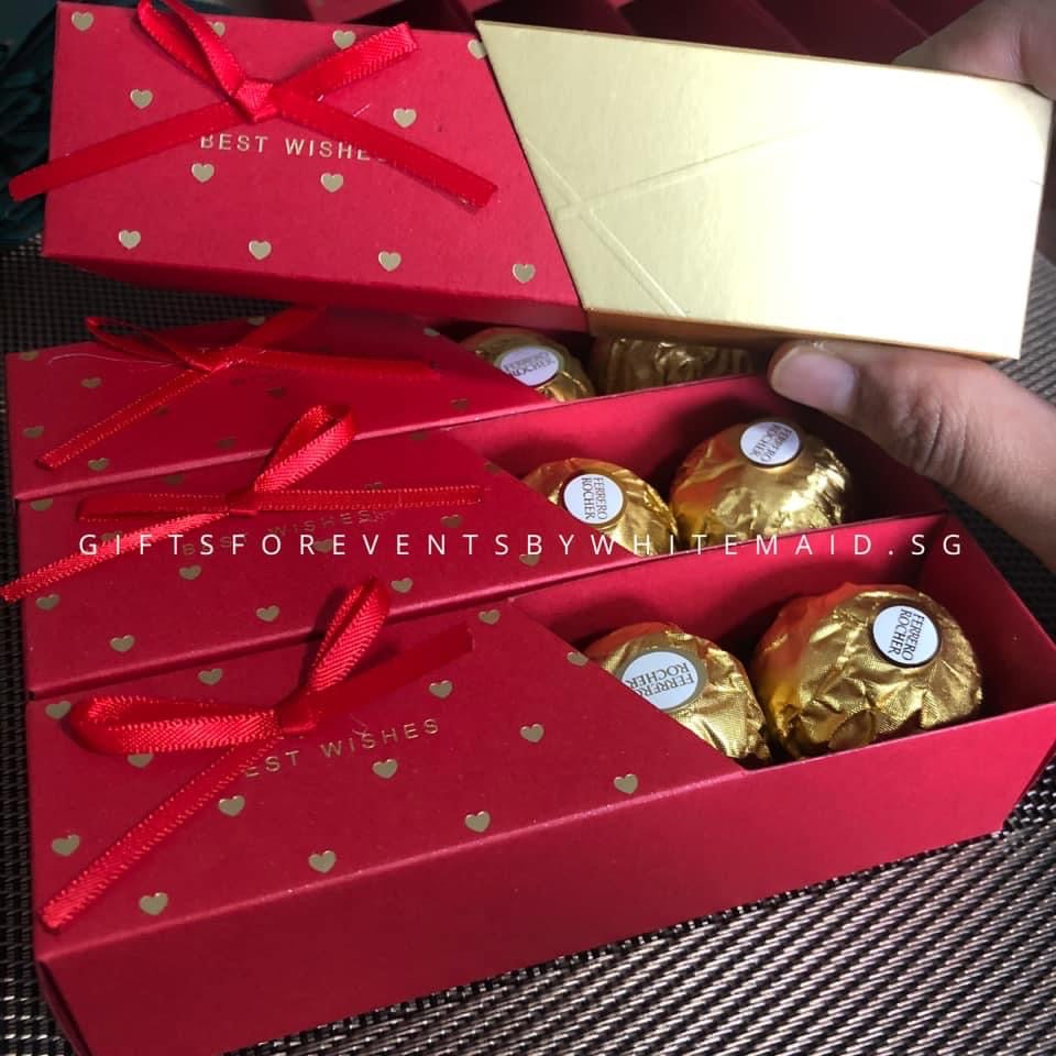 4pc Ferrero Rocher in Sliding Box