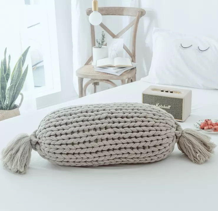 Thick Knitted Mini Hugging Bolster